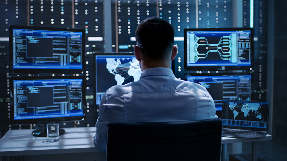 System Security Specialist Working