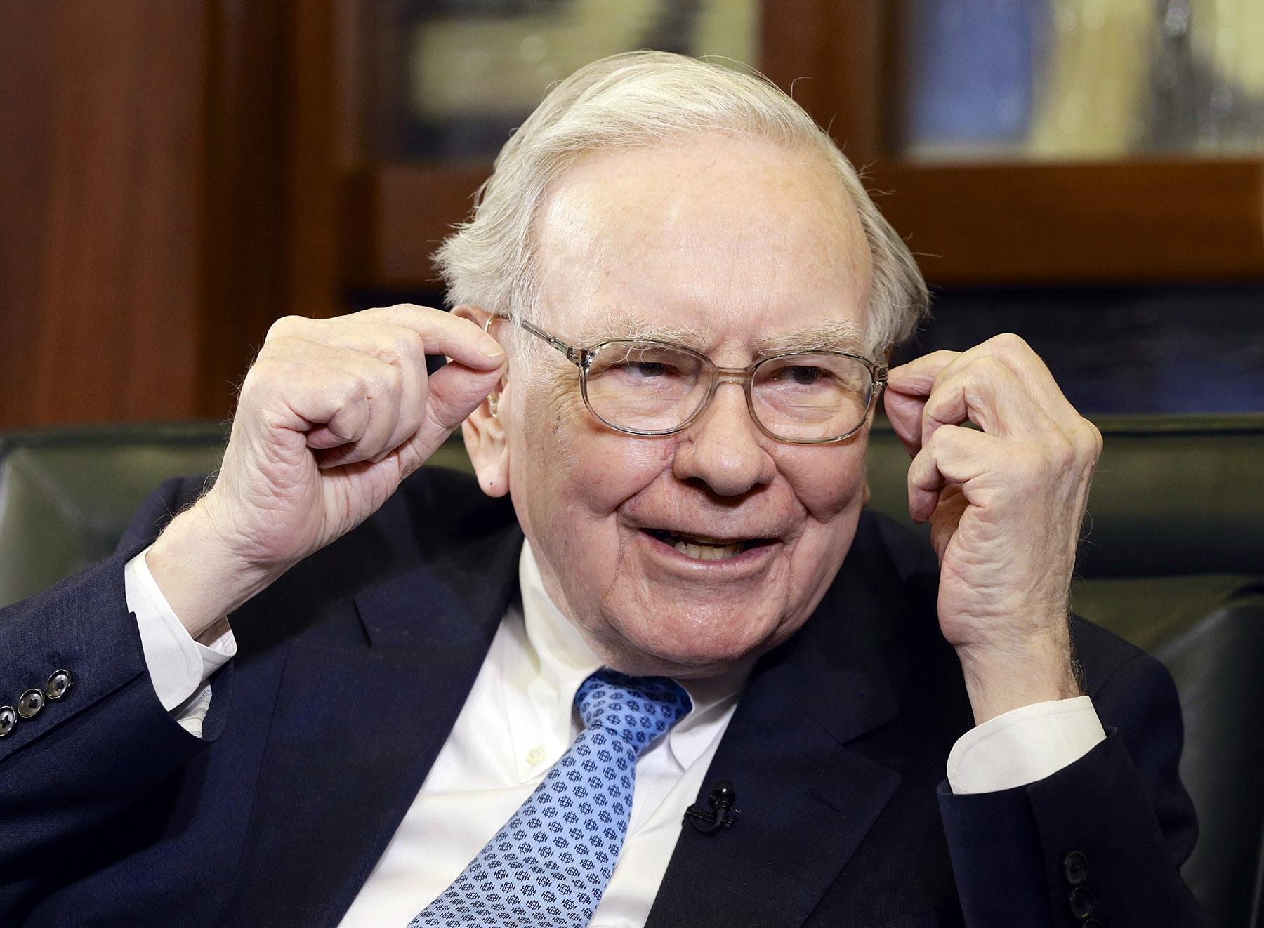 Warren Buffet in inteview.
